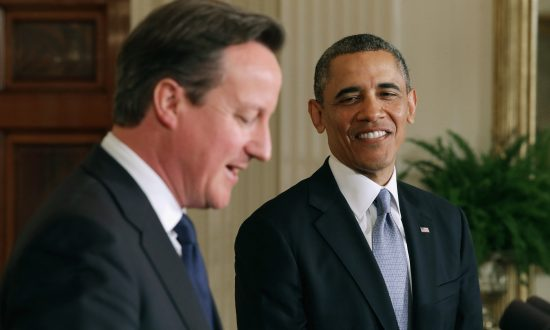 Obama, Cameron Prepare for Syrian Leadership Transition