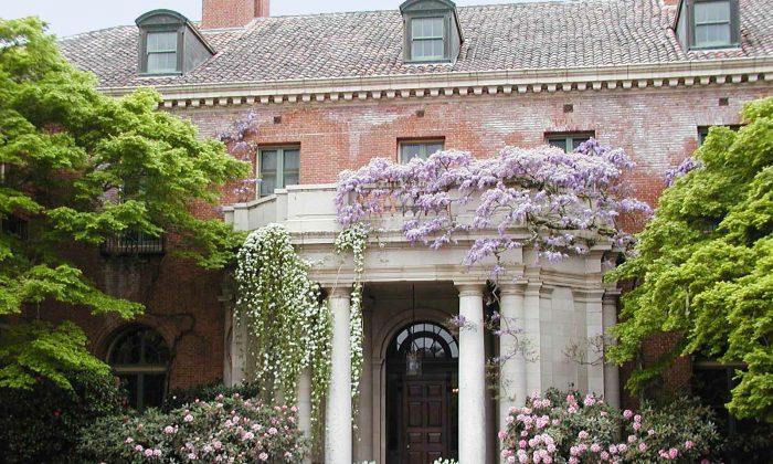 The Filoli estate in Woodside, California. (Courtesy of Filoli House and Garden)