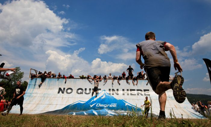 Tough Mudder Race, Vermont, 2012. (Courtesy of Tough Mudder)