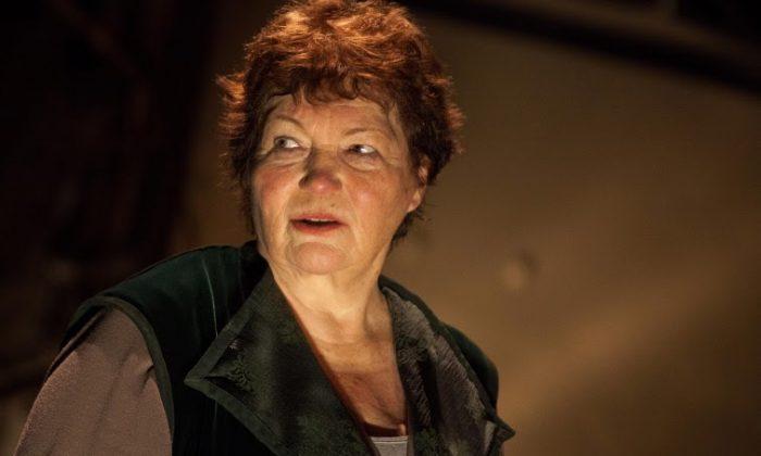 "Tina Packer in ""Women of Will."" (Matthew Murphy)"