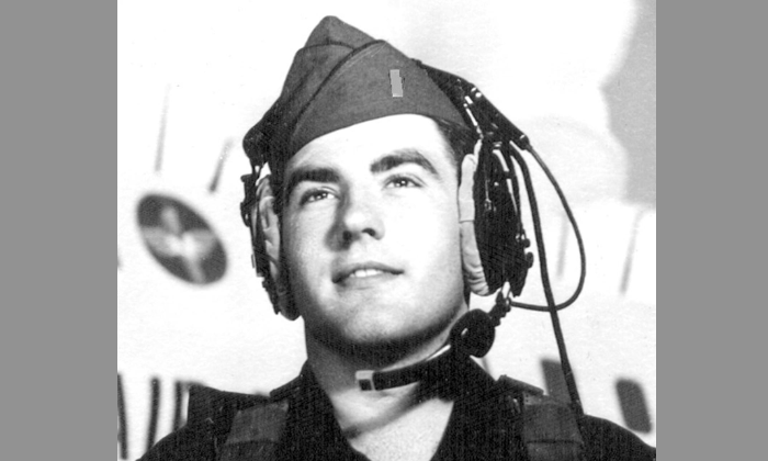 Major George Filer III as a young pilot in the U.S. Air Force around the time he had his first encounter with a UFO. (Courtesy of Major George Filer III)