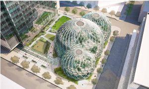 Amazon Biosphere Plans Sent to Seattle (+Photo)