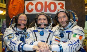 Astronauts Preparing for Trip to Space