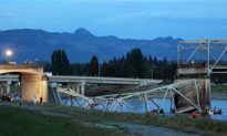 I-5 Bridge Collapses After Tractor-Trailer Hit, Circumstances Unknown (+Videos)