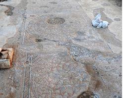 Part of the floor. (Screenshot/Israel Antiquities Authority/Yael Yolovitch)