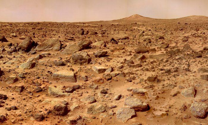 The surface of Mars. (NASA)