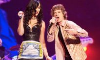 Katy Perry Jagger: Perry Joins Rolling Stones On Stage