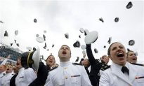 Naval Academy Students Graduate, Hear From President