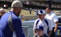 Kemp Terminally Ill Fan: Baseball Star Flies Fan to Game