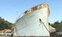 Truman Yacht Rusting: USS Williamsburg Decaying in Italy
