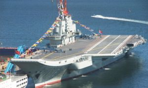 15 Deaths Reported During Construction of Chinese Aircraft Carrier