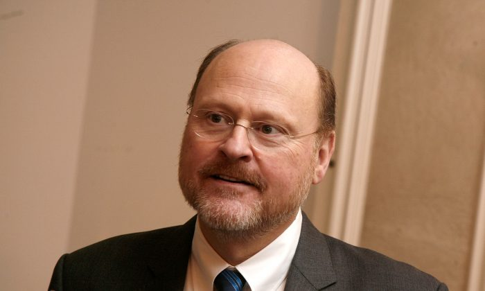 Joe Lhota attends Loews Regency Hotel's Inaugural Power Breakfast at Park Avenue Winter on January 9, 2013 in New York City. (Andy Kropa/Getty Images)