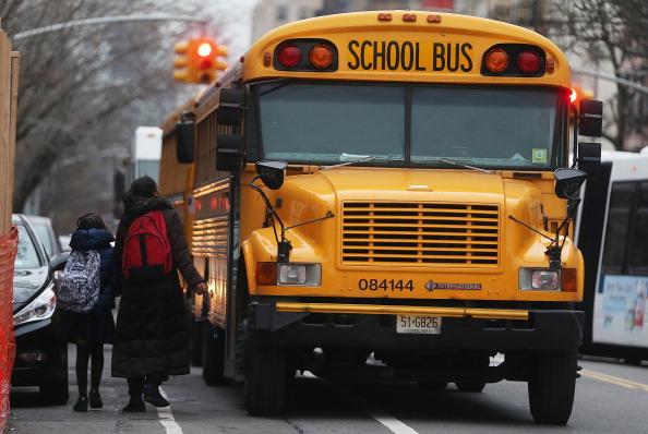 New York City School Bus. (Mario Tama/Getty Images)