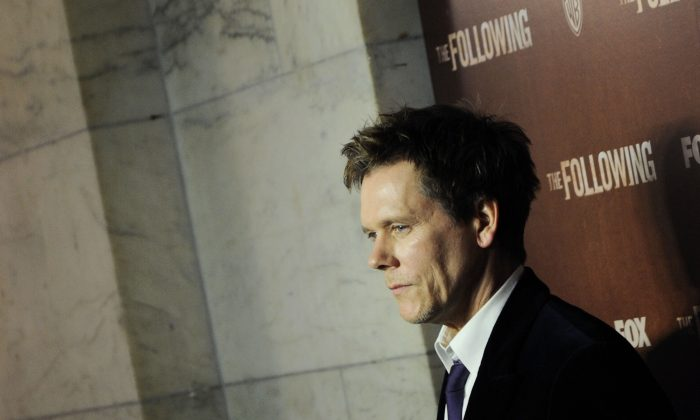 Actor Kevin Bacon attends 'The Following' World Premiere at The New York Public Library on Jan. 18, 2013 in New York City. (Ilya S. Savenok/Getty Images)