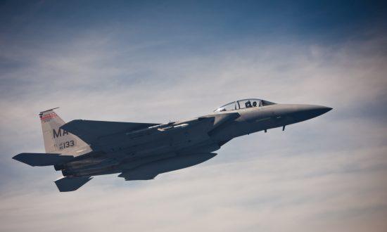 Pilot Missing After US Air Force F-15 Fighter Jet Crashes Off UK Coast