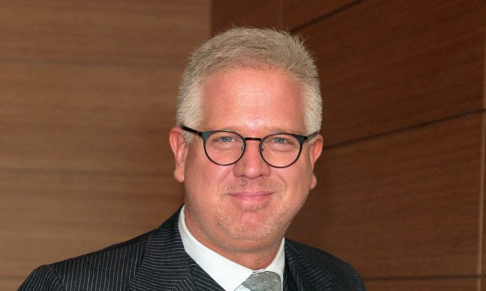 This April 26, 2013 file photo shows radio personality Glenn Beck at the Tribeca Disruptive Innovation Awards in New York. Beck says he regrets that some of the inflammatory things he's said haves caused division in the country. He said Thursday, June 6, he didn't regret his opinions, just the way some of them were stated. He didn't specify which ones. He said he wasn't fully aware of the perilous times the country is in and the way people were at each other's throats. Beck accepted a First Amendment Award on Thursday from Talkers magazine, the trade publication for people in his line of work. (Photo by Andy Kropa/Invision/AP, file)