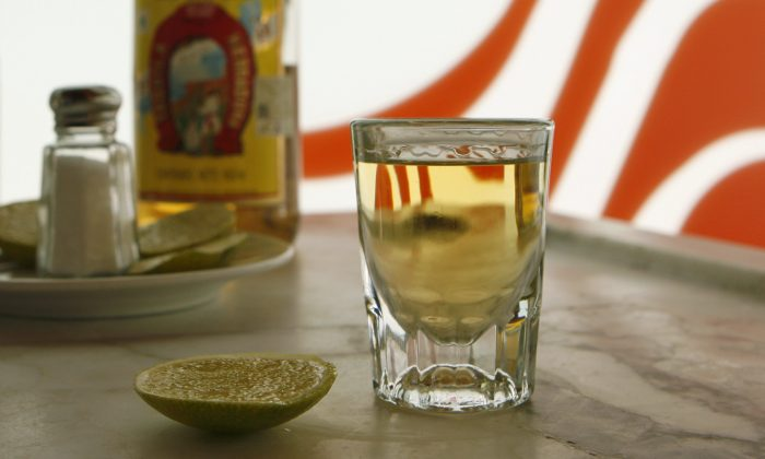 A stock photo of a shot of alcohol (AP Photo/Dario Lopez-Mills, File)