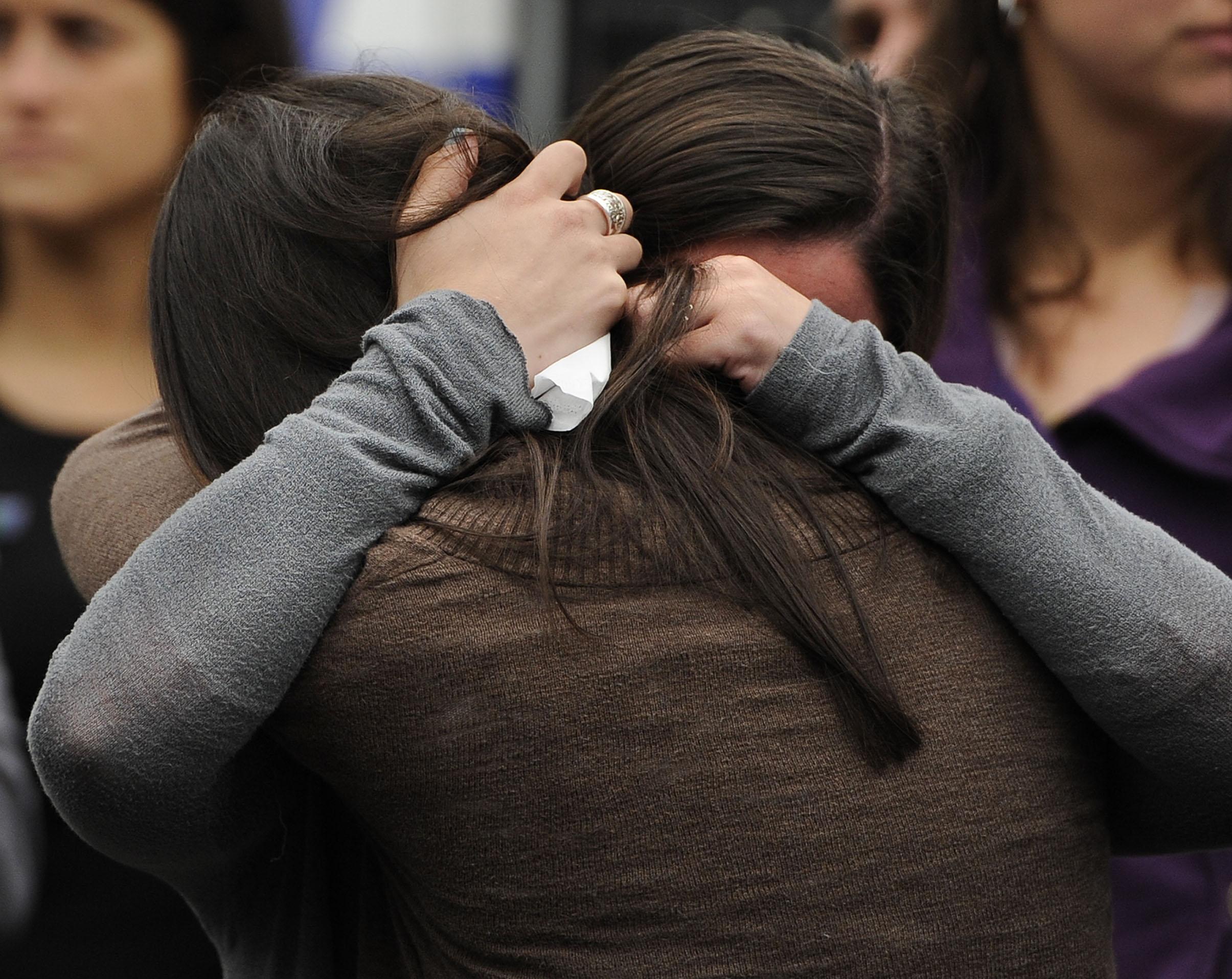 sisters of slain teacher from Sandy Hook mass shooting