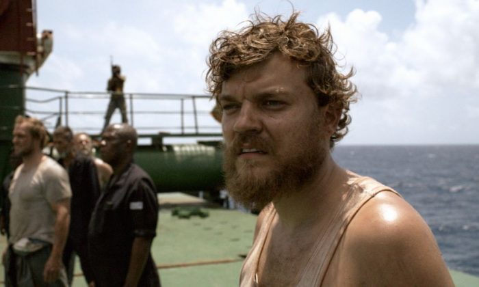 """Pilou Asbaek plays Mikkel Hartmann in the dramatic thriller """"A Hijacking,"""" a film about Somali pirates escalating in negotiations with Copenhagen authorities after hijacking a Danish cargo ship. (Courtesy of Magnolia Pictures)"""