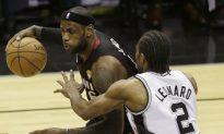NBA Finals Game 4 Second Quarter Recap