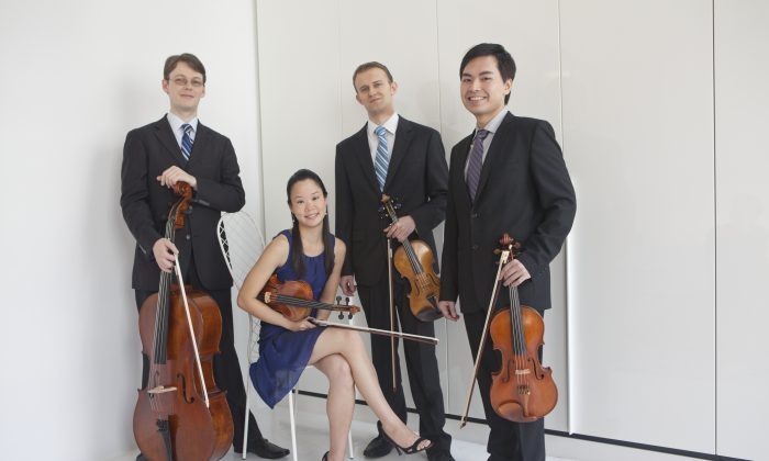 Amphion String Quartet (Courtesy of Amphion String Quartet)