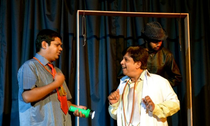 A glimpse from the performances based on Woody Allen's play, enacted in Bangalore. (Daksha Devnani/Epoch Times)
