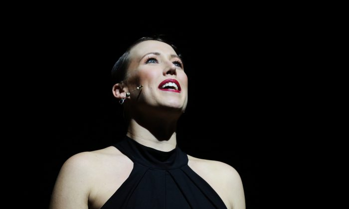 Fem Belling in the musical 'Genesis to Broadway,' by Frank Howson. (CAVANAGH PR)