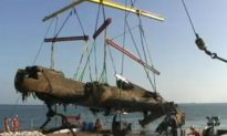 German WWII Bomber Recovered off UK Coast
