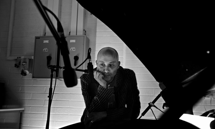"""Artist and producer Howie B (Massive Attack, Björk, U2), created the """"Seven Notes"""" collection of music tracks, using seven distinct notes of Maserati V8 engines. The """"Seven Notes"""" tracks were produced at London's Abbey Road Studios using Bowers & Wilkins 800 Series Diamond loudspeakers. (Courtesy of Maserati and Bowers & Wilkins)"""