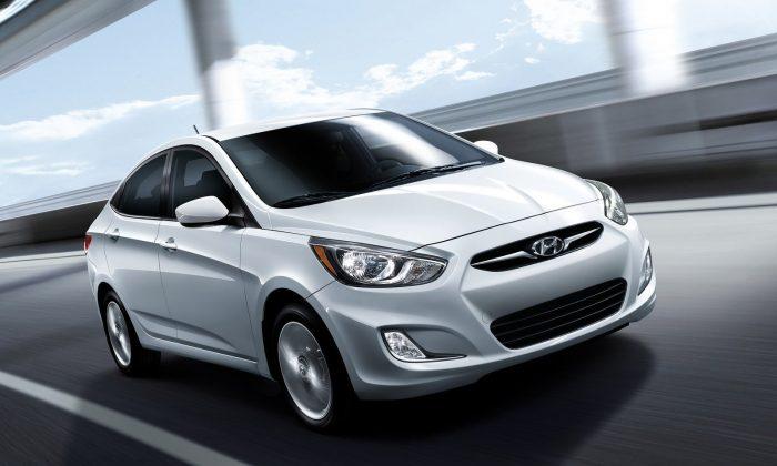 2013 Hyundai Accent (Courtesy of NetCarShow.com)