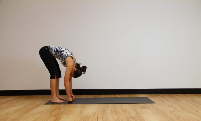 Keep your spine healthy and your whole body flexible with this stretch. (Jocelyn Bong)