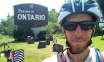 Canadian Bikes 7,500 Miles to Spotlight 'World's Most Forgotten Conflict'