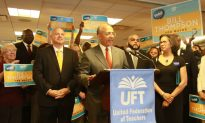 UFT Backs Thompson for Mayor