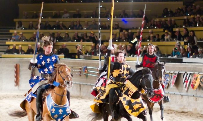 Knight riders: Medieval Times Dinner & Tournament soon to celebrate 20 years at CNE Location in Toronto. (Medieval Times)