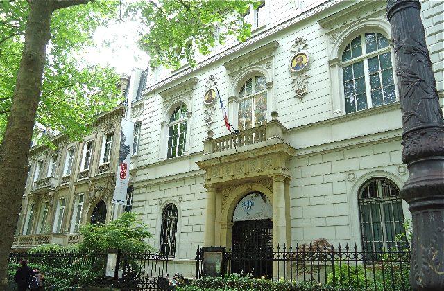 The exterior of Musee Cernuschi in Paris. (Susan James)