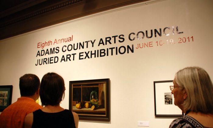 Adams County Arts Council Juried Exhibit at Schmucker Gallery. (Myriam Moran copyright 2011)