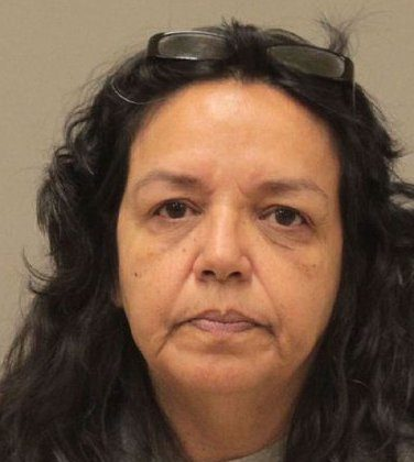 This undated photo released by the Kent County sheriff's department in Grand Rapids, Mich., shows Dee Ann Sanders, 53, of Martin, Mich. The FBI says Sanders' son saw a surveillance photo from the Tuesday, June 18, 2013, robbery of a Bank of America branch and recognized the robber as his mother. The son then called police, and his mother confessed to the robbery, the FBI said. The stickup note said the robber needed $2,500 for her children and grandchildren. Sanders is due in U.S. District Court in Grand Rapids on Thursday, June 27, 2013. (AP Photo/Kent County sheriff's department.)