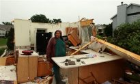Tornadoes Bring Hail and Flood, Kill 9 and Wound 75 in Midwest