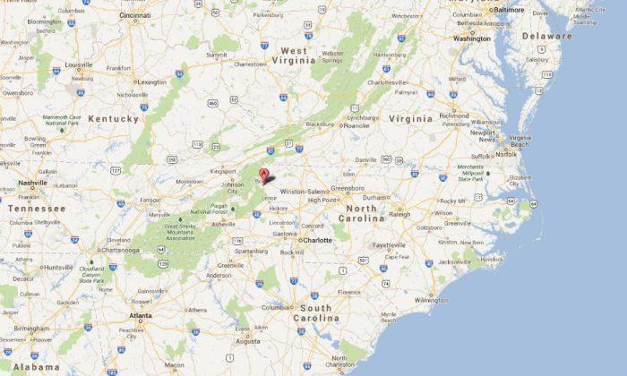 A screenshot of Google Maps shows Boone, N.C.