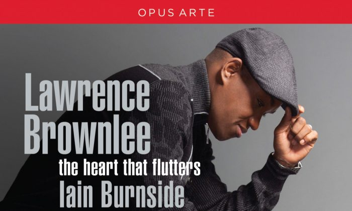 Lawrence Brownlee on the cover of his new CD. (Courtesy of Opus Arte)