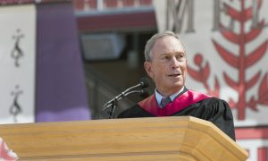 Bloomberg Urges Stanford Grads to Join NYC's Tech Boom