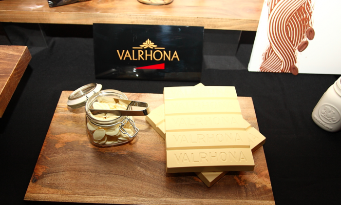Valrhona's new chocolate, Dulcey.(Courtesy of Valrhona)