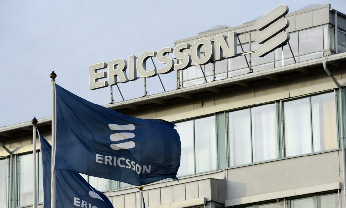 Ericsson headquarters in Stockholm, Sweden, is pictured on Nov. 7, 2012. (Jonathan Nackstrand/AFP/Getty Images)
