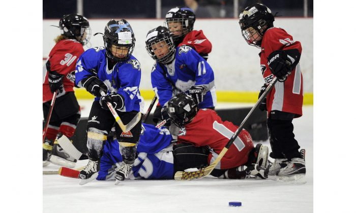 Along with reducing the number of concussions, Hockey Canada's removal of body-checking for children under 13 will also benefit their hearing health. High-impact sports, including hockey, have long been known to diminish hearing, leading to such problems as dizziness, vertigo, and motion sickness. (AP Photo/Sanford Myers)
