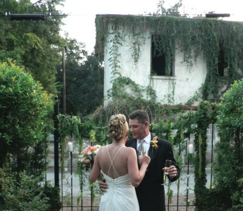 Outdoor weddings can be very beautiful, but have a Plan B ready … just in case! ( ALL PHOTOS COURTESY OF SHARON MCGUKIN)