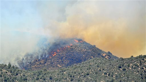 Fires in New Mexico and Arizona Still Burning