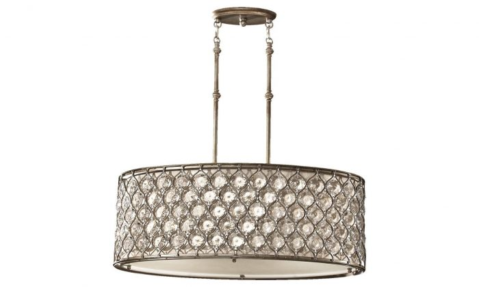 A ceiling lamp from the Lucia Collection (LivingLighting.com)