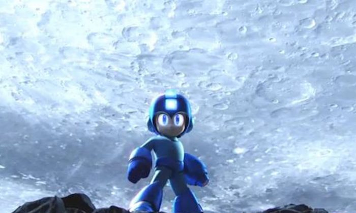 "Megaman in a Nintendo trailer for the new ""Super Smash Bros."" game expected to launch in 2014. (Screenshot/Youtube)"