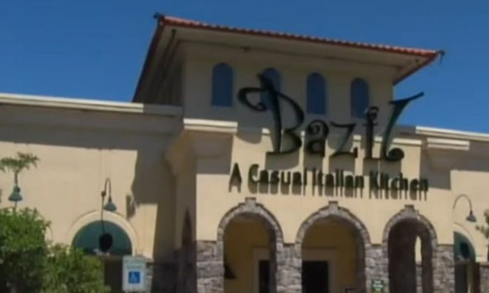 A screenshot of an ABC-13 video shows the Bazil restaurant in Rochester, NY