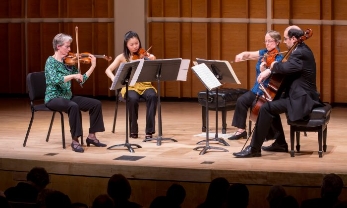 A New York Philharmonic Ensemble concert at Merkin Concert Hall on Feb. 17. (Courtesy of Chris Lee)